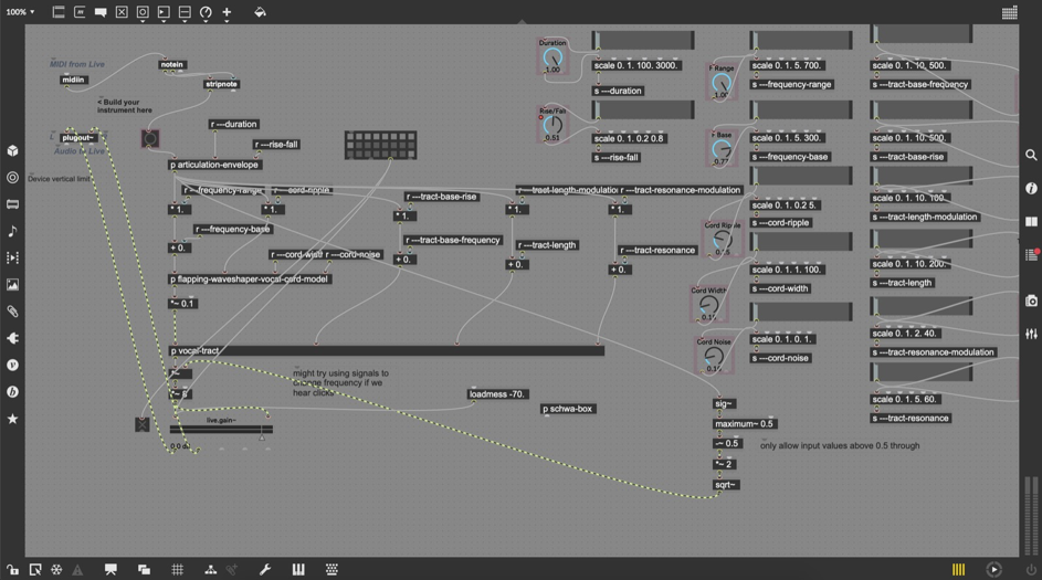 Procedural Audio-Workshop